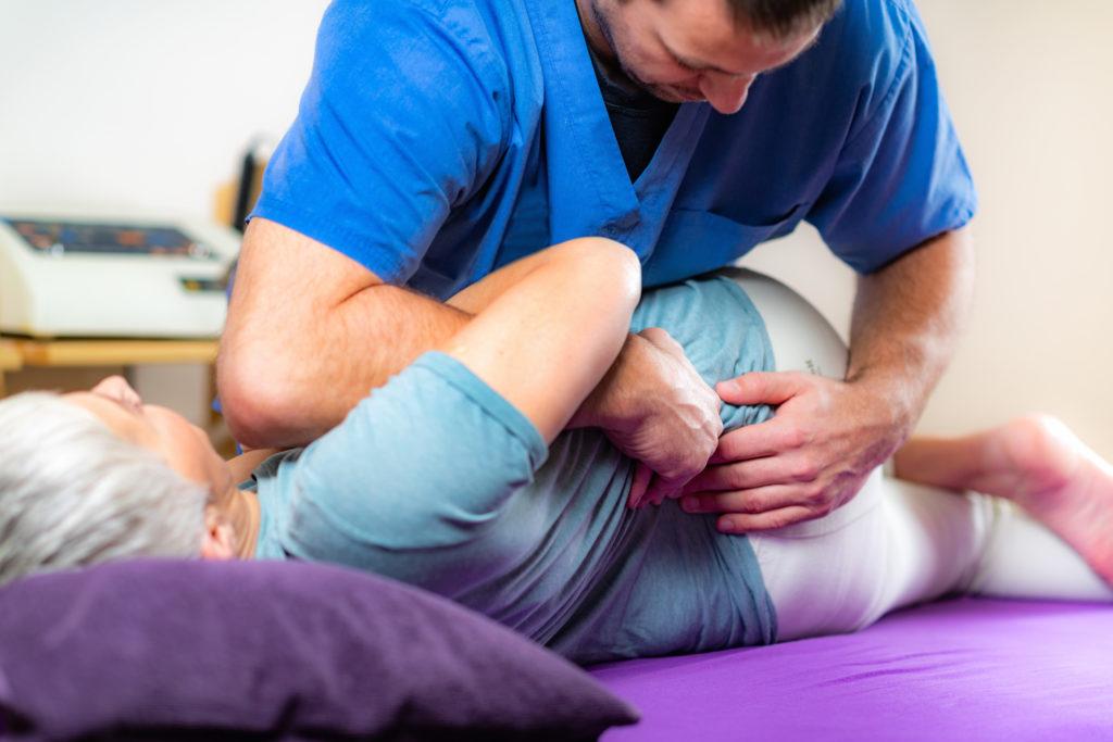 Krankengymnastik – Behandlung einer Coxarthrose